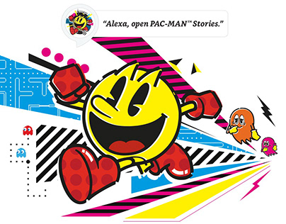 Pac-Man Stories for Amazon Alexa.