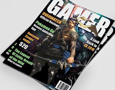 Game Magazine Cover