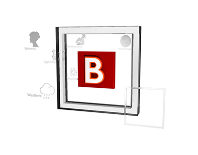 BBC Logo 3D Animation Project