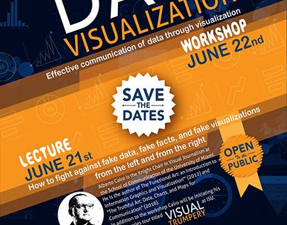 Data Visualization workshop poster and website