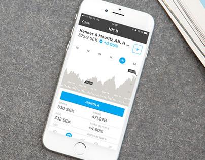 Nordnet Bank's new app