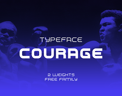 Typeface Courage