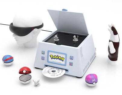Pokemon AR/VR Game Console