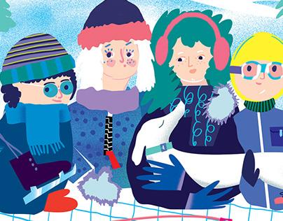 Kids magazine, Świerszczyk, january 2019
