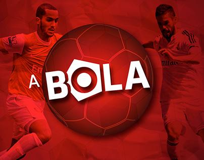 "Marca Jornal ""A BOLA"" | Rebranding"