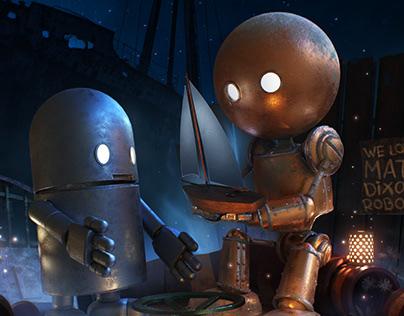 We love Matt Dixon robots