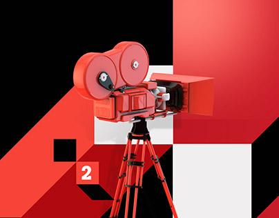 ID Cinema Rai. Channel Branding