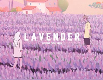 [SAMSUNG Theme] Lavender