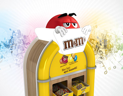 M&M Concept Stand