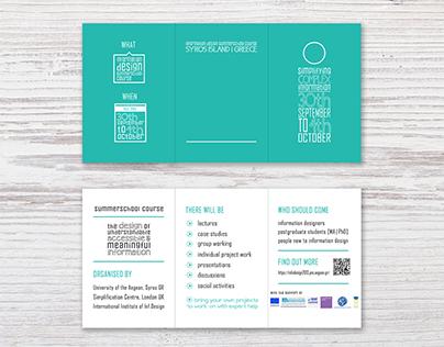 Info Design summer school