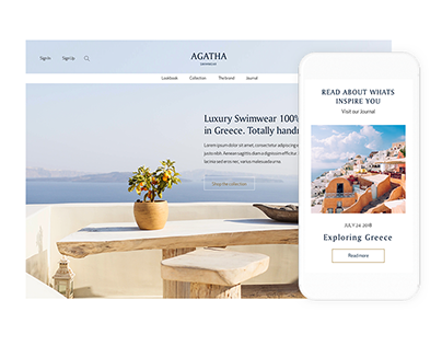 UX Retail Project | AGATHA