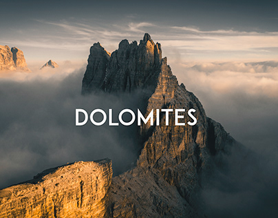 Dolomites, The Aerial Journey