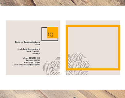 Gymnasium Logo + Business Card