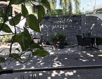 cafe sân vườn cá koi cafe chòi lá cafe võng Home Garden