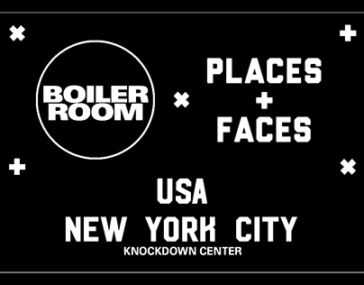 Boiler Room + Places & Faces America Tour NYC
