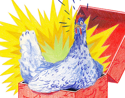Tagesspiegel | Illustrations for 5 children's stories