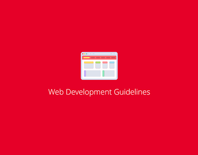 Web Development Guidelines