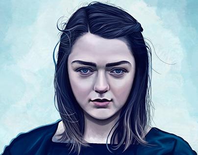Arya Stark Fan art