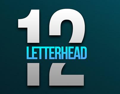 12 Professional Letterhead