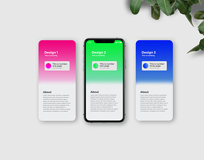 iPhone 11 Pro App Presentation Mockup