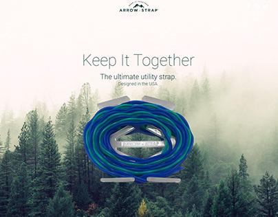 Arrow Strap Website Design & Branding
