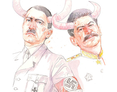 Compare Nazism and Stalinism, not communism!