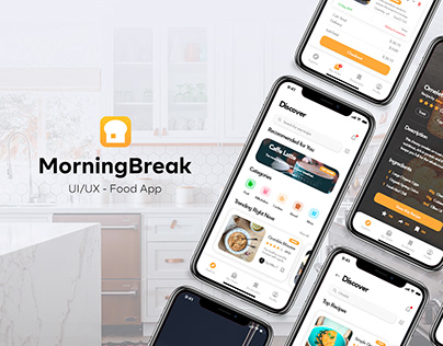 MorningBreak | UI/UX Food App