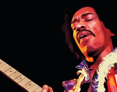 Jimi Hendrix vector