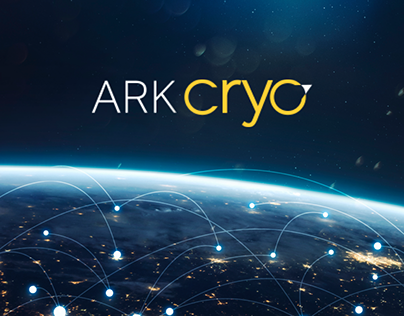 ARK.CRYO — Website