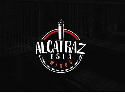 Diseño de Marca Alcatraz Isla Wings Gdl