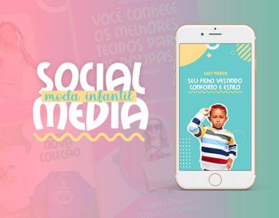 Social Media - Moda Infantil