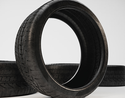 P Zero Tire - 3D Model