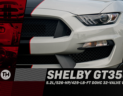 Shelby GT350 Poster Design
