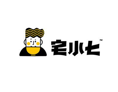 宅小七LOGO设计/Logo design
