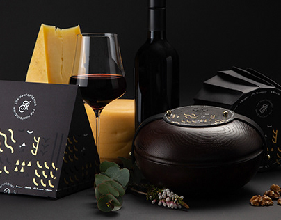 Packaging Design. Cheese.
