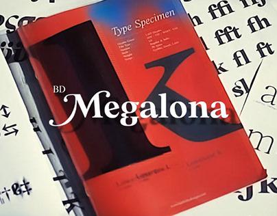 FREE   BD Megalona Elegant Old Style Serif