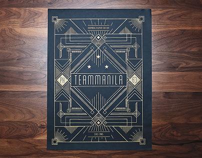 TM Art Deco Poster