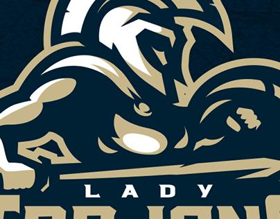 Lady Trajans Sports Logo for Sale