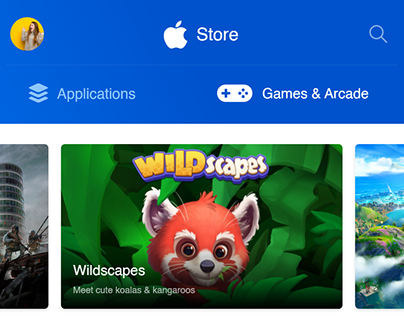Apple App Store - Browse Layout Redesign Concept