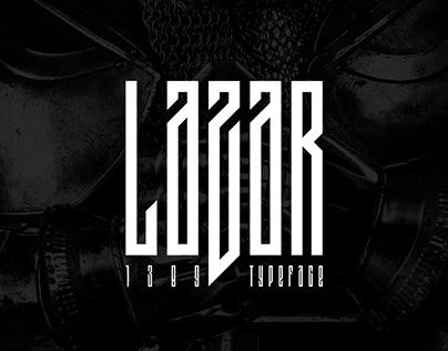 Lazar 1389 Typeface