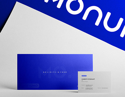 MONUMO - No limits in form' - Branding, Identity