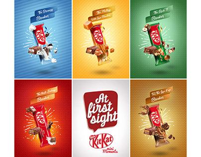 KitKat MINIS Range Launch