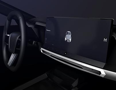 Mivon-E Automotive Concept UI/UX 2025