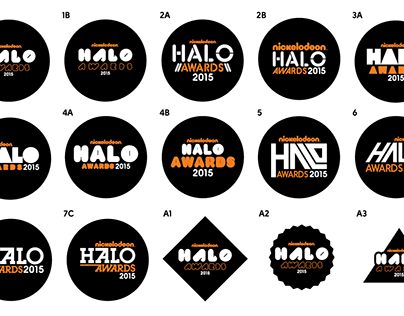 Nickelodeon Halo Awards Branding