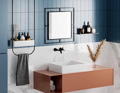 Corner Mirror /Decortie