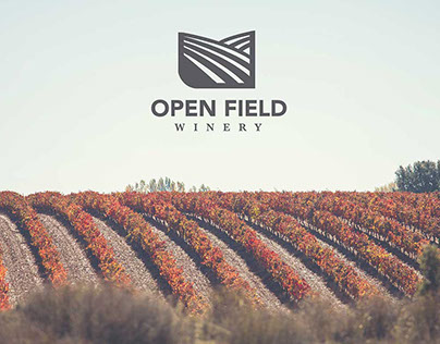 Open Field Winery Branding