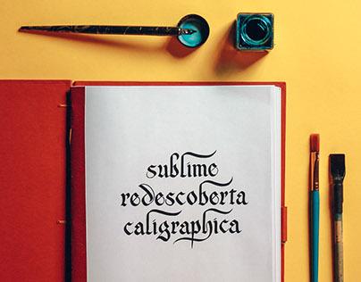 Sublime Redescoberta Caligraphica
