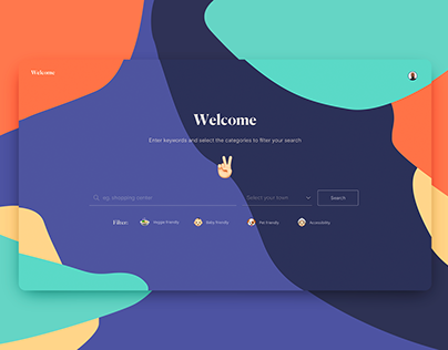 Welcome — web design