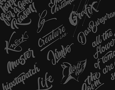 Lettering - Logotypes & Artworks