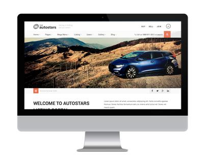 Auto Stars - Car Dealership & Listings WP Theme